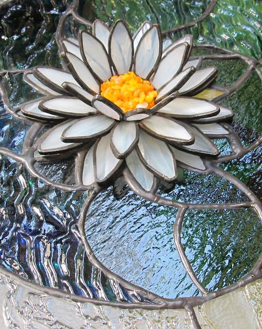 Water Lilly Stained Glass